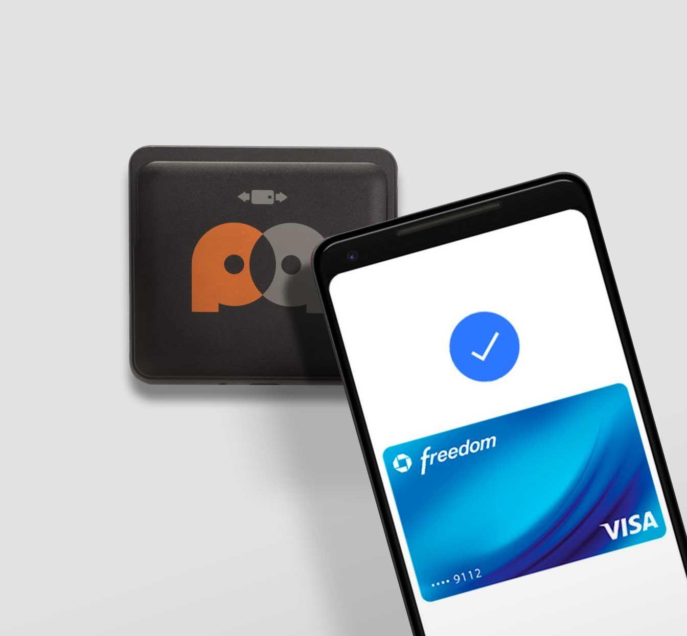 Pay Anywhere Phone Reader